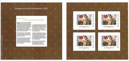 FRANCE CARNET COLLECTOR LE LOUVRE LENS INAUGURATION 2012  NON PLIE TB VOIR SCANS - Collectors