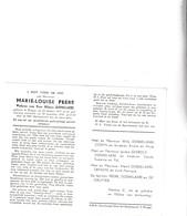 M.PEERE °BRUGGE 1877 +1958 (H.DOBBELAERE) - Devotion Images