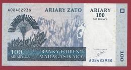 Madagascar 100 Ariary 2004  Dans L 'état - Madagascar
