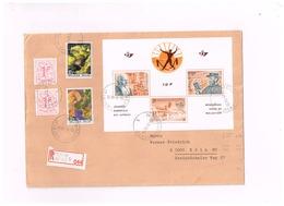 Lettre Recommandée De Berchem à Köln (Allemagne) - Blocks & Sheetlets 1962-....