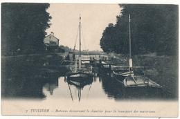 TUILIERE - Bateaux Desservant Le Chantier - Andere Gemeenten