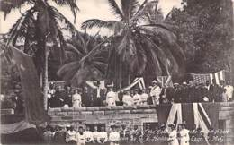 SIERRA LEONE ( Event ) FREETOWN - The Laying Of The Foundation Of The ALBERT ACADEMY ... CPA 1908 - Afrique Black Africa - Sierra Leone