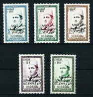 Marruecos Nº 397/401 (sobrecarga) Nuevo - Marokko (1956-...)