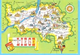 Belgique-Carte Postale Illustrée De La Province De Liège-Edit.Lander, Eupen - Belgique