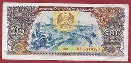 Laos 500 Kips 1988 Dans L 'état - Laos