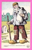 Illust-742P81 GRIFF  Aimer La Terre, C'est Les écus, Aimer Les Femme C'est La Besace, Cpa BE - Griff