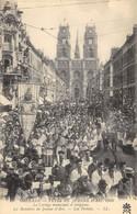 CPA 45 ORLEANS FETES DE JEANNE D ARC 1909 LE CORTEGE MUNICIPAL ET RELIGIEUX LA BANNIERE DE JEANNE D ARC LES  PRELATS - Orleans