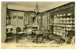 37 - B4280CPA - METTRAY - Château De La RIBELLERIE - Le Petit Salon - Belles Faïences - Très Bon état - INDRE-ET-LOIRE - Non Classés