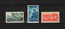1951 - Pionniers Mi No 1259/1261  MNH - Ungebraucht