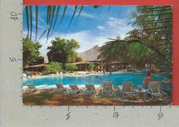 CARTOLINA VG KENIA - MALINDI - Jambo Village - 12 X 16 - 1992 - TASSATA MECCANICA CON TIMBRO ANNULLATO - Kenia