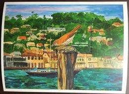 Grenada 1993 Birds Song Thrush Minisheet MNH - Vögel