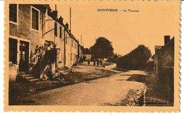 Saône Et Loire MONTCENIS La Terrasse - Francia