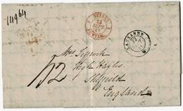 """1841, """" LAUSANNE """" Nach England , A3042 - Suisse"""