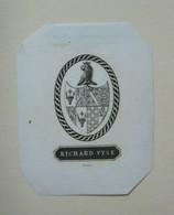 Ex-libris Héraldique Illustré XIXème - RICHARD VYSE - Ex-libris
