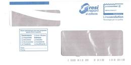 RESI REPORT AL MITTENTE LINEAEVOLUTION - 6. 1946-.. Republik