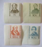 Bund 222-225 Helfer Der Menschheit 1955 Eckrand Postfrisch (37236) - Briefmarken