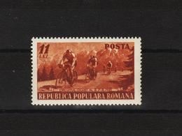 1951 -  Tour De Rouanie Cyclisre Mi No 1263 Et Yv No 1150 MNH - Ungebraucht