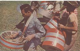 X114967 ISLA TRINIDAD Y TOBAGO STEEL BAND - Cartoline