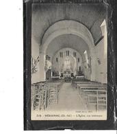 17-MERIGNAC-( Montlieu-la-Garde)-Une Vue De L'Interieur De L'EGLISE - Autres Communes