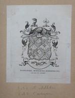 Ex-libris Héraldique Illustré XIXème - MARMADUKE, MIDDLETON, MIDDLETON - Ex-libris