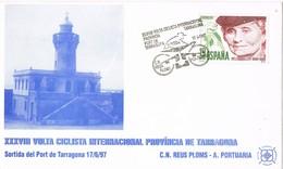 35624. Tarjeta TARRAGONA 1997. 38 Volta Ciclista Internacional Tarragona. Port Tarragona - 1931-Hoy: 2ª República - ... Juan Carlos I