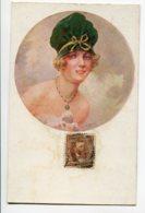 ILLUSTRATEUR 0033 A PENOT Frimousses Roses Série 25  -Portrait Jeune Femme à Chapeau - Illustrators & Photographers