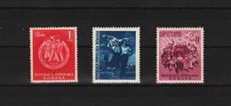 1951 - 3 Festival Mondial De La Jeunesse,a Berlin-est Y&T No 1152/1154 Et Mi No 1264/1266 MNH - 1948-.... Repubbliche