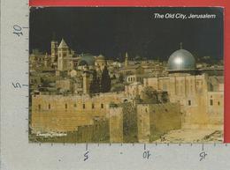 CARTOLINA VG ISRAELE - Golden Sunset In JERUSALEM - 12 X 16 - 198? - Israele