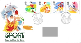 GREAT BRITAIN 1988 Sports Organisations: First Day Cover CANCELLED - 1981-1990 Dezimalausgaben