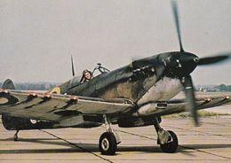 Vickers Armstrong Supermarine Battle Of Britain Film War Plane Spitfire Postcard - Aviones