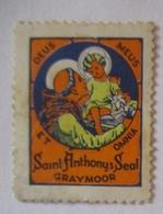 Religien Graymoor New York, Saint Anthony Seal Xx (46005) - Glaube, Religion, Kirche
