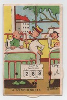 Carte Système Humoristique Militaire - Calendrier Manuel - Illustrateur J. Gschwind - Non Circulée. N°335. - Umoristiche