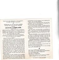 O.DOBBELAERE °ST.JORIS TEN DISTEL 1891 +1959 (S.GOETHALS) - Devotion Images
