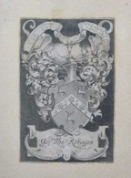 Ex-libris Héraldique Illustré XVIIIème - GEORGE THOMAS ROBINSON - Ex-libris