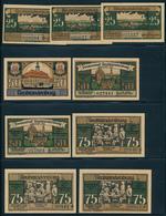 NOTGELD / NEUBRANDENBURG  -   1921   -   9  Notgeldscheine  -   Ungebraucht - [11] Lokale Uitgaven