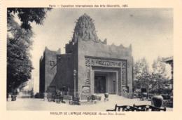 75 - PARIS 1925 - Exposition Internationale Des Arts Décoratifs-  Pavillon De L Afrique Francaise - Mostre