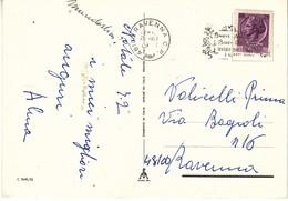 Targhetta - Buon Natale - Ravenna - 1946-.. République