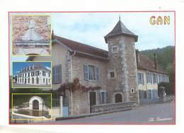 Cpsm   - Gan   - Maison De Jeanne D 'Albret , La Mairie Et Les Bains Romains Du Broca     V1527 - Other Municipalities