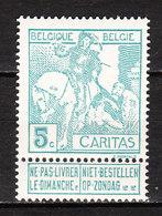 86**  Caritas - Bonne Valeur - MNH** - LOOK!!!! - 1910-1911 Caritas