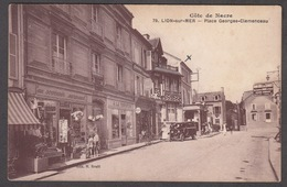 CPA 14 -  LION SUR MER - Place Georges Clemenceau - France