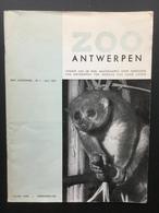 Zoo Antwerpen Tijdschrift  1972 En Jaarverslag 1971/72 - Revues & Journaux