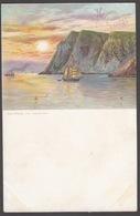 CPA - NORWAY - NORVEGE - NORGE, HILSEN Fra Norge, Nordkap Med Midnatsolen -  Midnight Sun - Norvegia