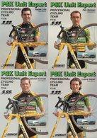 Cyclisme, 9 Cartes PSK Unit Espert 2000 - Radsport