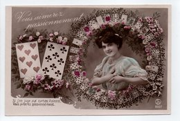- CPA CARTES A JOUER - Série SIP 8007 - - Playing Cards