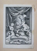 Ex-libris Héraldique Illustré XVIIIème - THOS. GAISFORD - Ex-libris