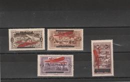 Liban Yvert PA 25 à 28 * Neufs Avec Charnière - 2 Scan - Poste Aérienne