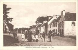 Dépt 29 - PLOUÉGAT-GUÉRAND - La Place - (Collection N.-L.) - Plouégat-Guerrand - Frankreich