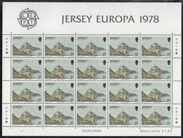 JERSEY  Michel  177/79  ** MNH  FULL SHEET - Jersey