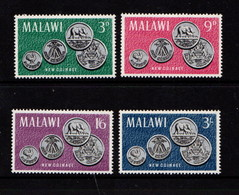 MALAWI    1965    Malawi  First  Coins    Set  Of  4    MNH - Malawi (1964-...)