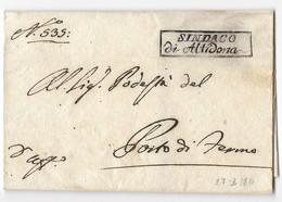 PERIODO NAPOLEONICO - DA ALTIDONA A PORTO DI FERMO - 17.3.1811. - Italia
